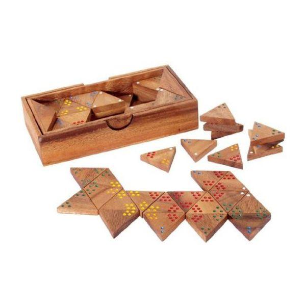 Bartl 7248 Tri Domino Triodomino 19x10x4 cm Holz