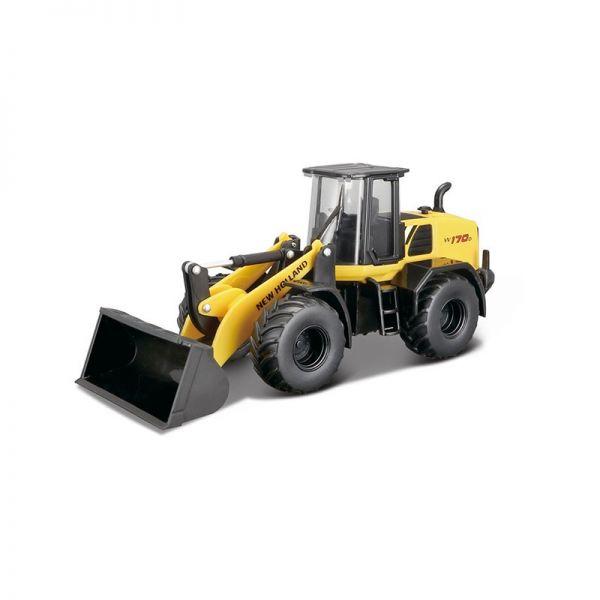 Bburago 32083 New Holland W170D Radlader gelb/schwarz Maßstab 1:50