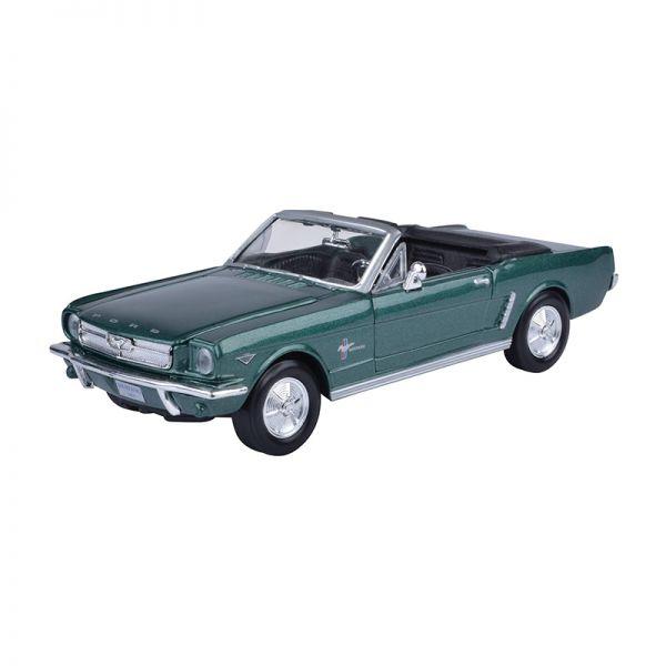 Motormax 73212 Ford Mustang Cabriolet grün metallic Maßstab 1:24