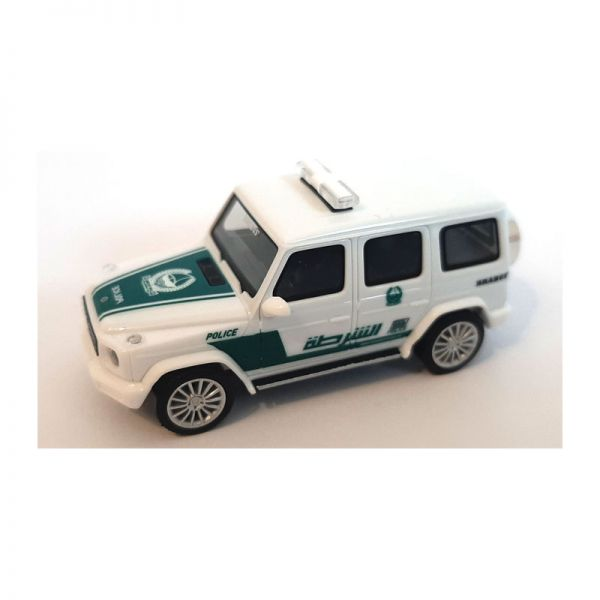 "Herpa 095082 Mercedes Benz G-Klasse ""Polizei Dubai"" weiss/grün Maßstab 1:87"