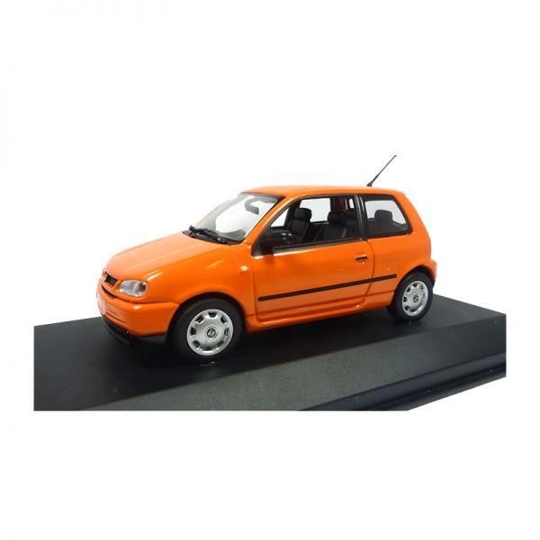 Minichamps 433057103 Seat Arosa orange Maßstab 1:43