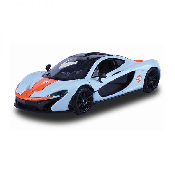 "Motormax 79642 McLaren P1 ""Gulf"" hellblau Maßstab 1:24"