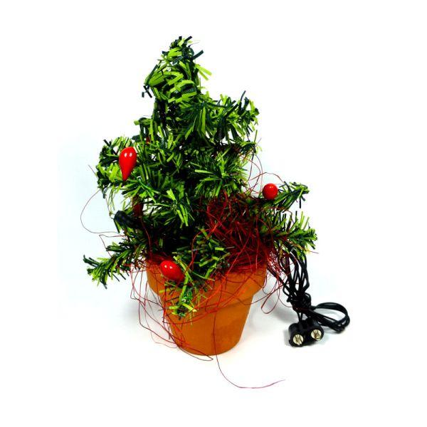 Kahlert 49911 LED Weihnachtsbaum im Topf 1:12 für Puppenhaus