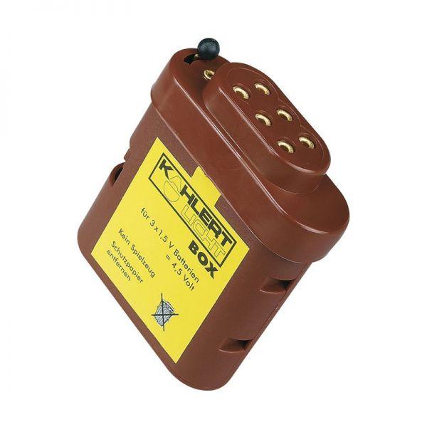 Kahlert 60897 Batteriebox (leer) für 3x 1,5V Batterien