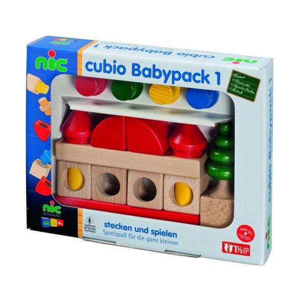 """nic 2111 Cubio """"Babypack 1"""" - Bauen mit 20 Steckbausteinen"""