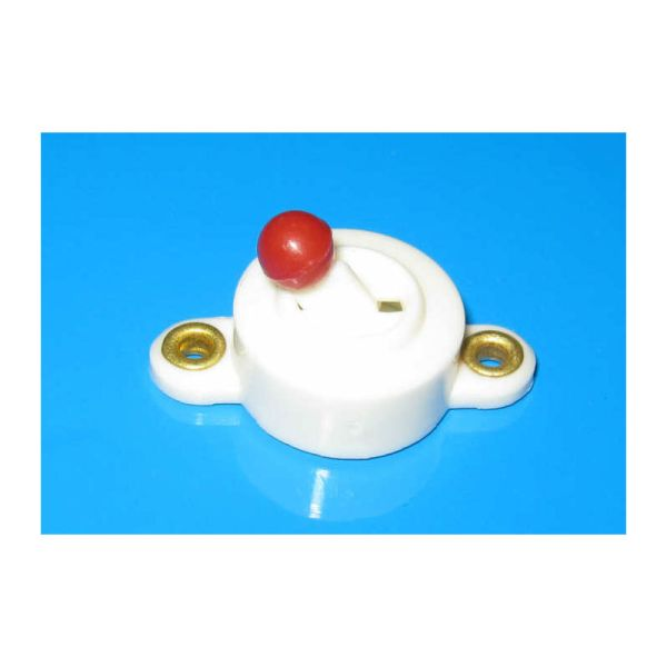 Kahlert 67620 Kippschalter weiß 3,5V für Puppenhausbeleuchtung