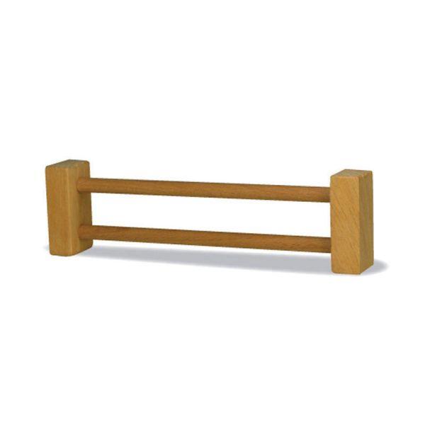 Holztiger 43048 Weidezaun Zaunteil für Bauernhof Naturholz, geölt