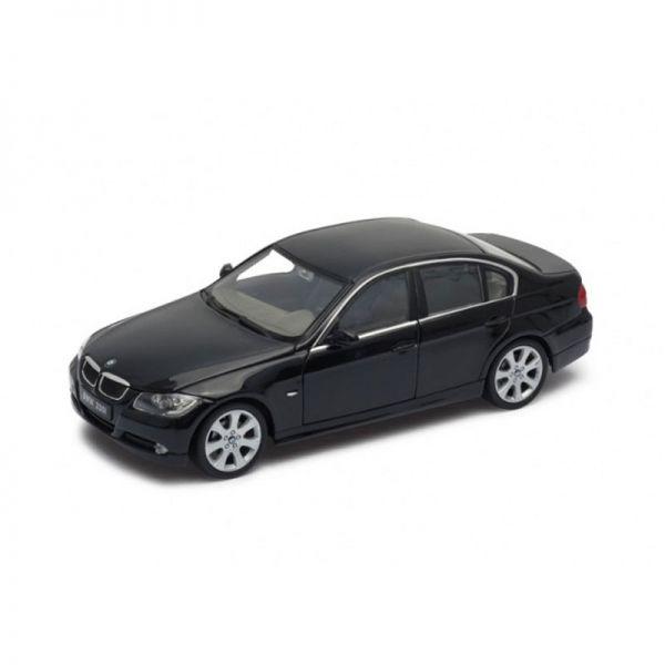 Welly 22465 BMW 330i schwarz Maßstab 1:24 Modellauto