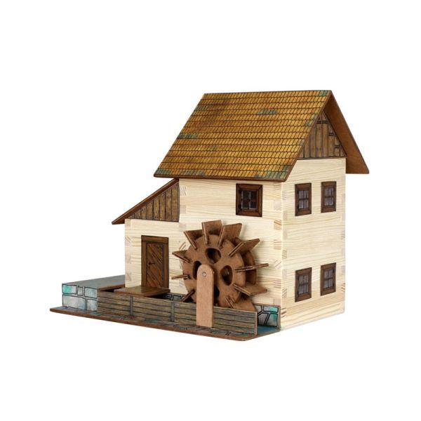 "Walachia W16 ""Wassermühle"" Modellbaukasten 1:32 Holz"