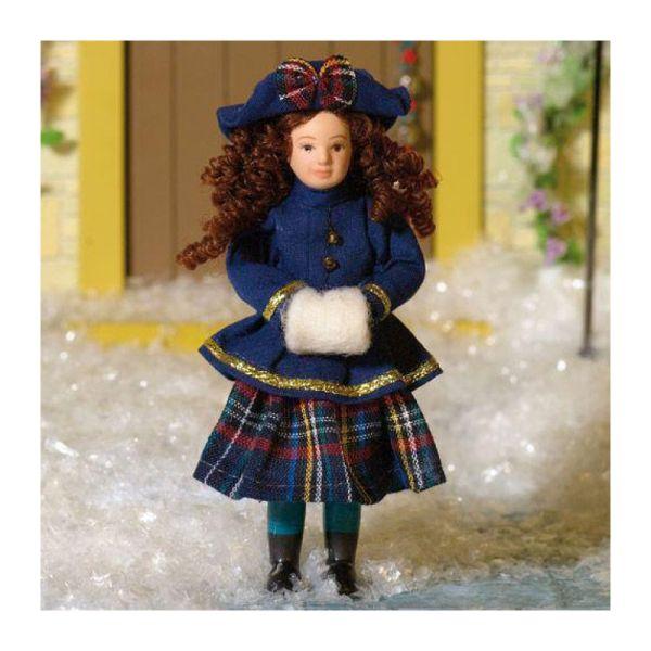 """Dolls House 7435 Puppe """"Daniella"""" 1:12 für Puppenhaus"""