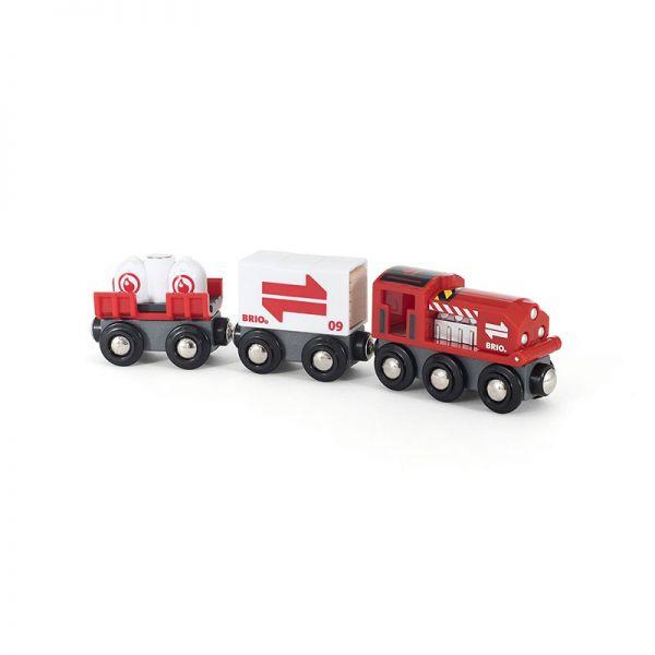 Brio 33888 Güterzug mit Frachtladung für Holzeisenbahn