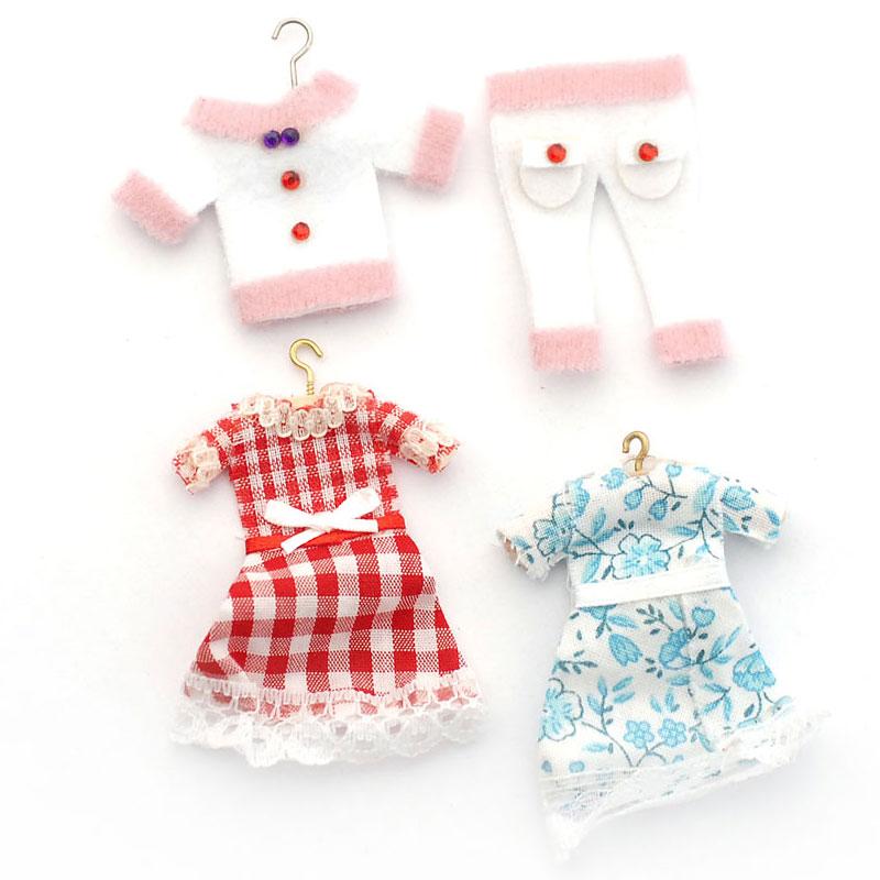 Dolls House 4891 Girls-Kleider Puppenkleider 1:12 für Puppenhaus ...