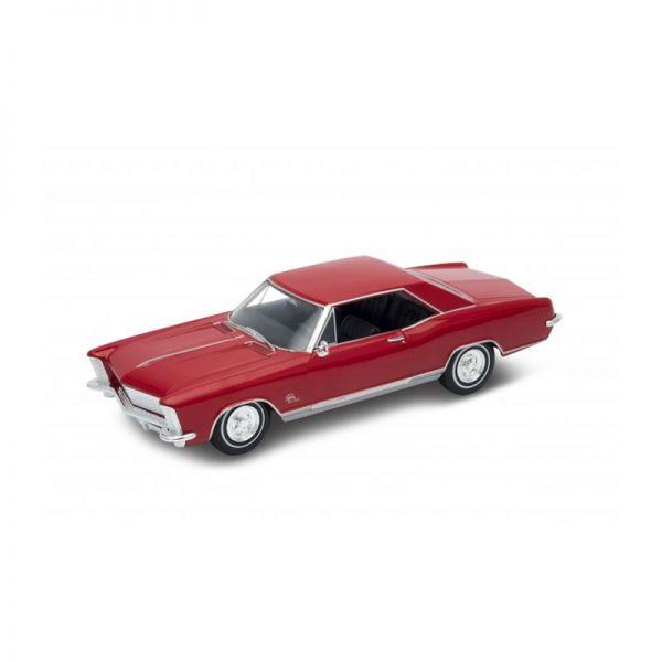 Welly 24072 Buick Rivera Grand Sport rot Maßstab 1:24 Modellauto