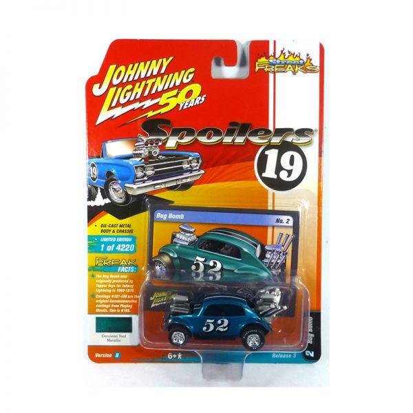Johnny Lightning JLSF014-B2 Bug Bomb #52 blau - Spoilers 19 Maßstab 1:64