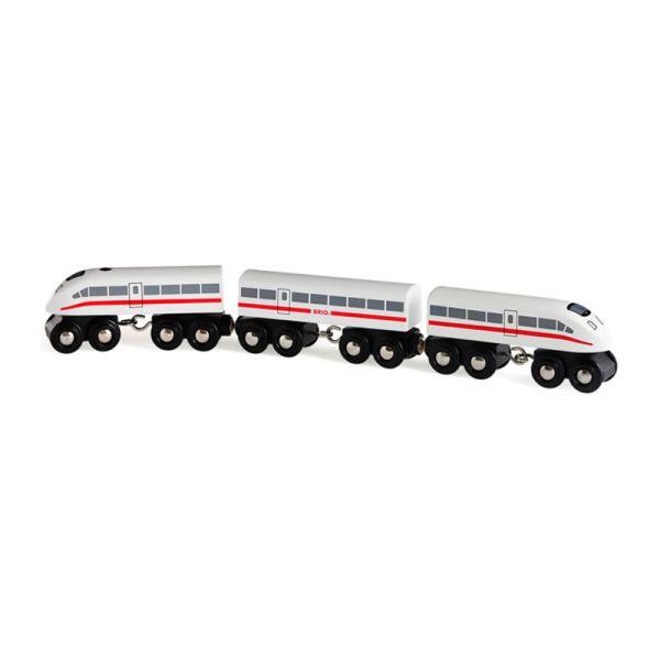 Brio 33748 Schnellzug mit Sound aus Holz für Holzeisenbahn