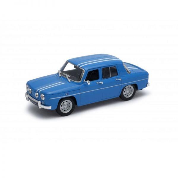 Welly 24015 Renault R8 Gordini blau/weiss Maßstab 1:24 Modellauto