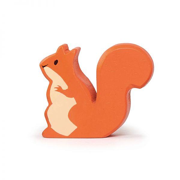 Tender TL4726 Eichhörnchen orange Holzfigur