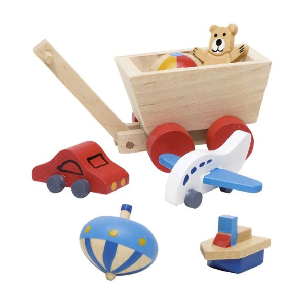 goki 51938 Kinderzimmer für Puppenhaus
