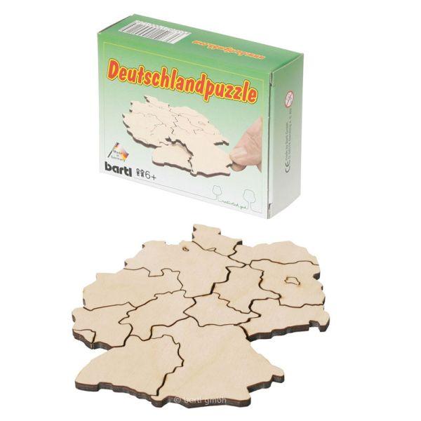 """Bartl 2359 """"Deutschlandpuzzle"""" Bundesland Holz Puzzle Lernspiel"""