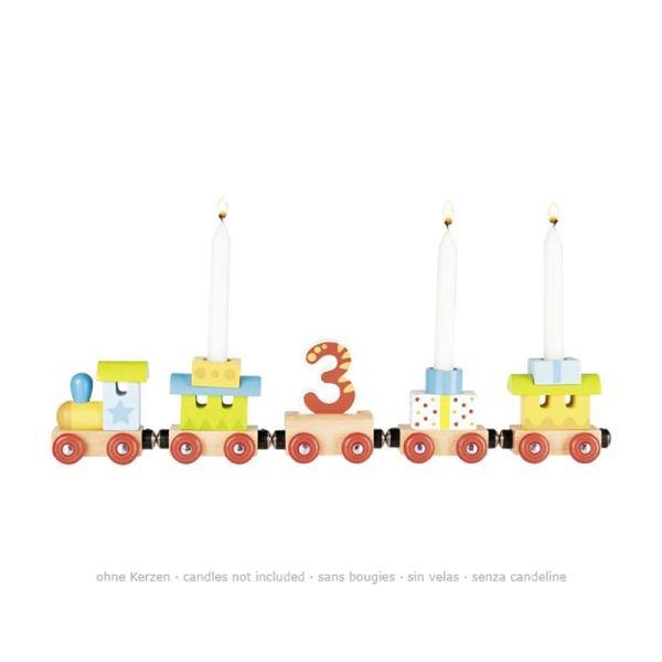 goki 60721 Geburtstagskarawane Geburtstagszug mit Magnetverbindung