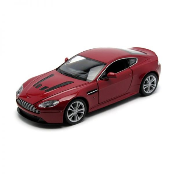 Welly 24017 Aston Martin V12 Vantage metallic rot Maßstab 1:24 Modellauto