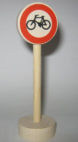 """Glückskäfer 525516 """"Verbot für Radfahrer"""" Verkehrszeichen"""