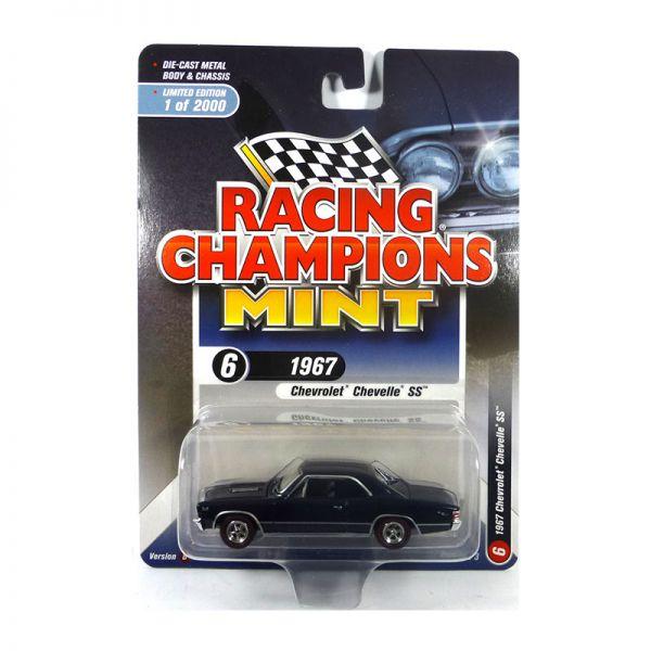 Racing Champions Mint RC009-6B Chevrolet Chevelle SS dunkelblau Maßstab 1:64