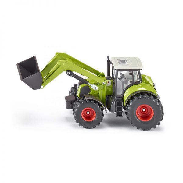 Siku 1979 Claas Traktor mit Frontlader grün Maßstab 1:50