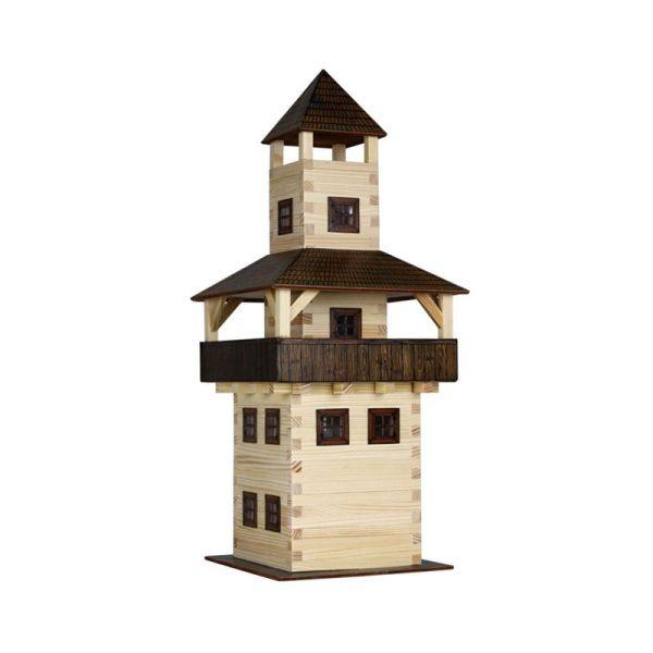 "Walachia W28 ""großer Turm"" Modellbaukasten 1:32 Holz"