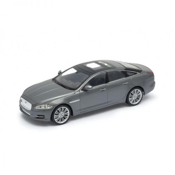 Welly 22517 Jaguar XJ grau metallic Maßstab 1:24 Modellauto
