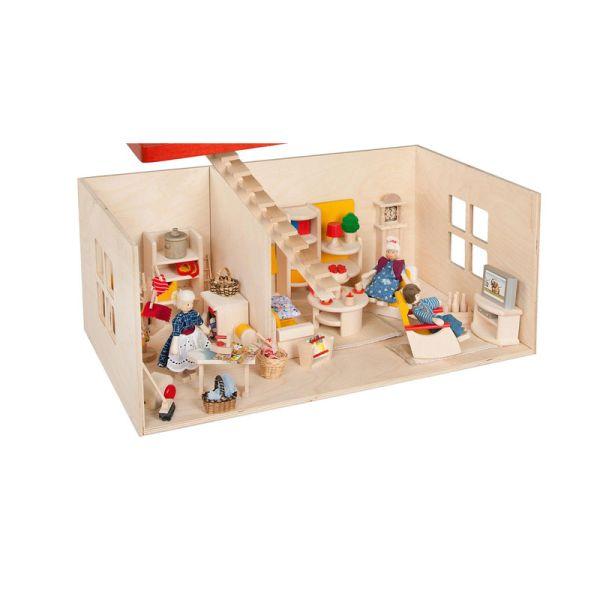 Rülke 23211 Puppenstube (Etage) für Haus mit Balkon 1:12 für Puppenhaus