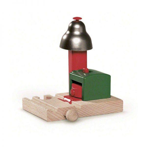Brio 33754 Magnetisches Glockensignal für Holzschienenbahn