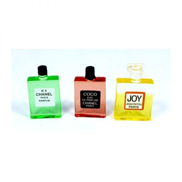 Creal 75133 Parfum Flaschen (3 Stück) 1:12 für Puppenhaus