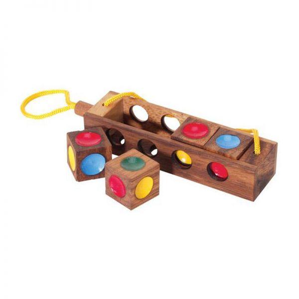 Bartl 7259 Ampelspiel Denkspiel Knobelspiel Holz