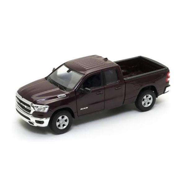 Welly 24104 Dodge RAM 1500 dunkelrot metallic Maßstab 1:27 Modellauto