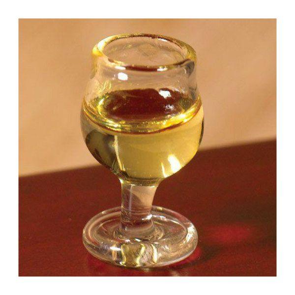 Dolls House 6713 Weißwein Glas 1:12 für Puppenhaus