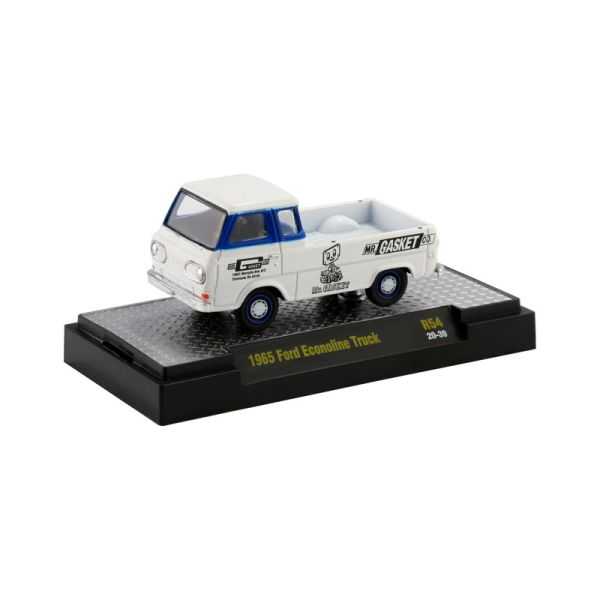 "M2 Machines 32600-R54-20-39 Ford Econoline Truck ""Gasket"" weiss Maßstab 1:64"