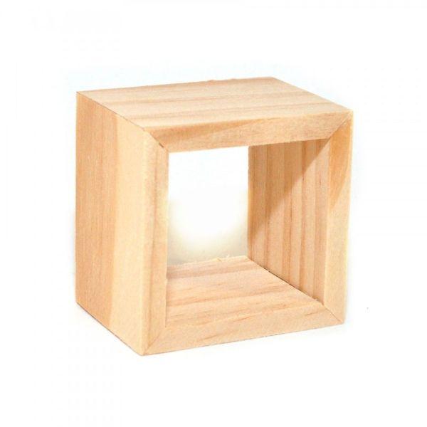 SA-Dollshouse BEF186 Miniatur Regal klein natur Holz 1:12 für Puppenhaus