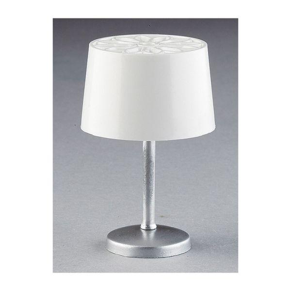 Kahlert 10429 LED Tischlampe weiss 3,5V 1:12 für Puppenhaus