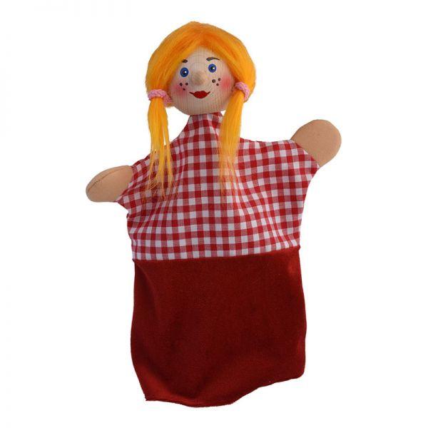 """Kersa 60225 Handpuppe """"Gretel Gretchen"""" für Puppentheater Holzkopf"""