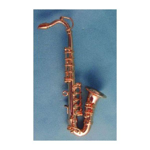 SA-Dollshouse 9/549 Deluxe Tenor Saxophone mit Koffer 1:12 für Puppenhaus
