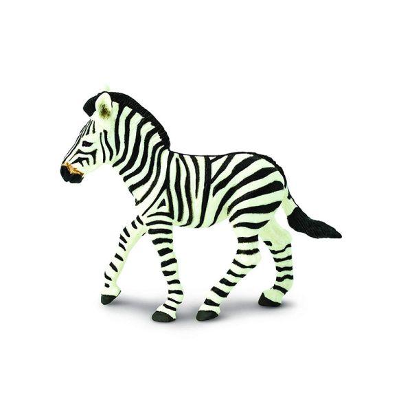 Safari S271829 Zebra Baby Schwarzweiss Spielfigur Wald