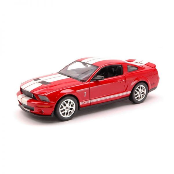 Welly 22473 Shelby Cobra GT 500 rot/weiss Maßstab 1:24 Modellauto