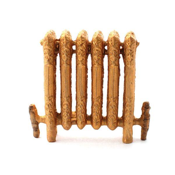 Dolls House 5743 Radiator gold Heizung Metall 1:12 für Puppenhaus