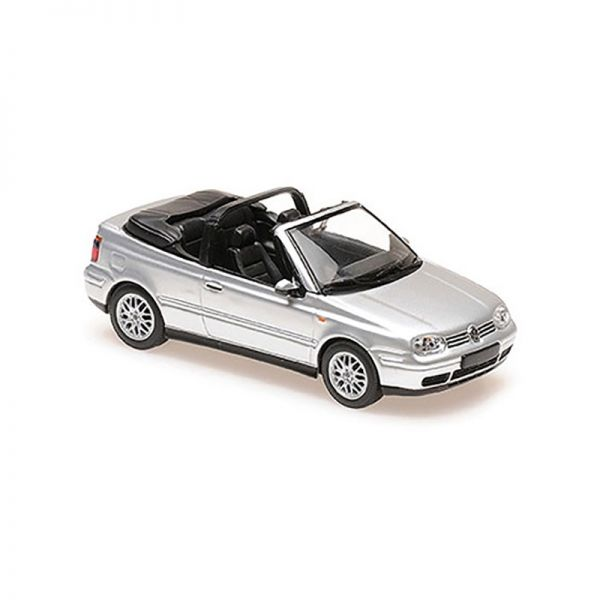 Maxichamps 940058331 VW Golf IV Cabriolet silber Maßstab 1:43