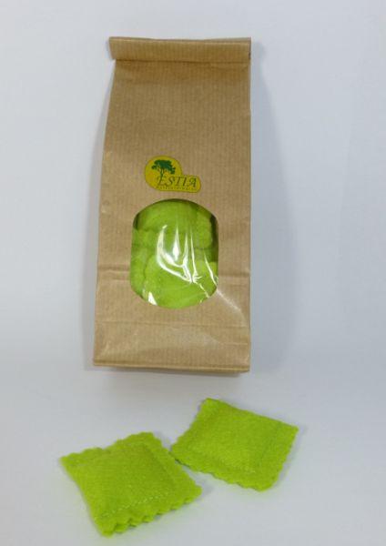 Estia 600707 Bärlauch Ravioli hellgrün für Kaufladen oder Kinderküche