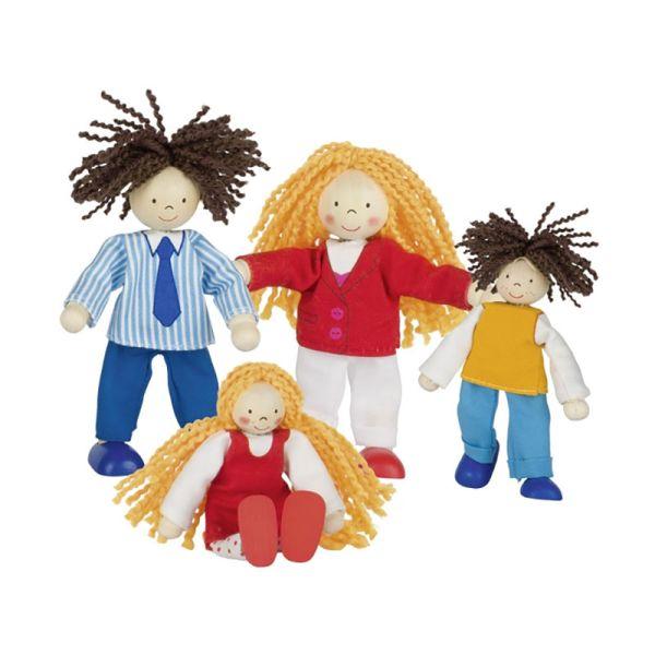 goki 51800 Puppenfamilie, Biegepuppen