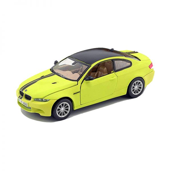 Motormax 79511 BMW M3 Coupe matt-gelb/schwarz Maßstab 1:24