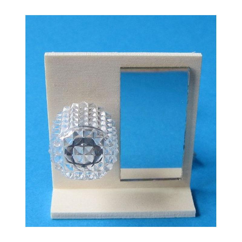 kahlert 10318 bad spiegel mit beleuchtung 1 12 f r puppenhaus kahlert r lke lampen 3 5v. Black Bedroom Furniture Sets. Home Design Ideas