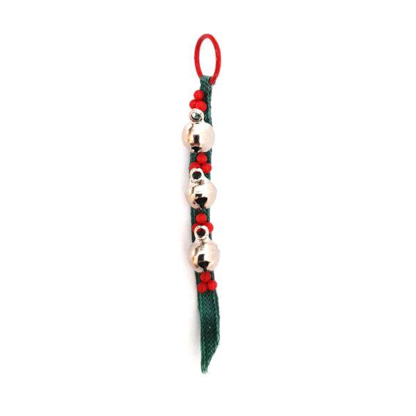 Dolls House 6732 Türband mit Glöckchen Weihnachten 1:12 für Puppenhaus